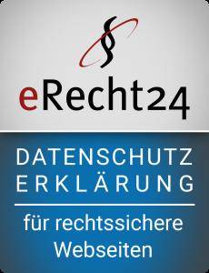 eRecht24-Siegel Datenschutzerklärung